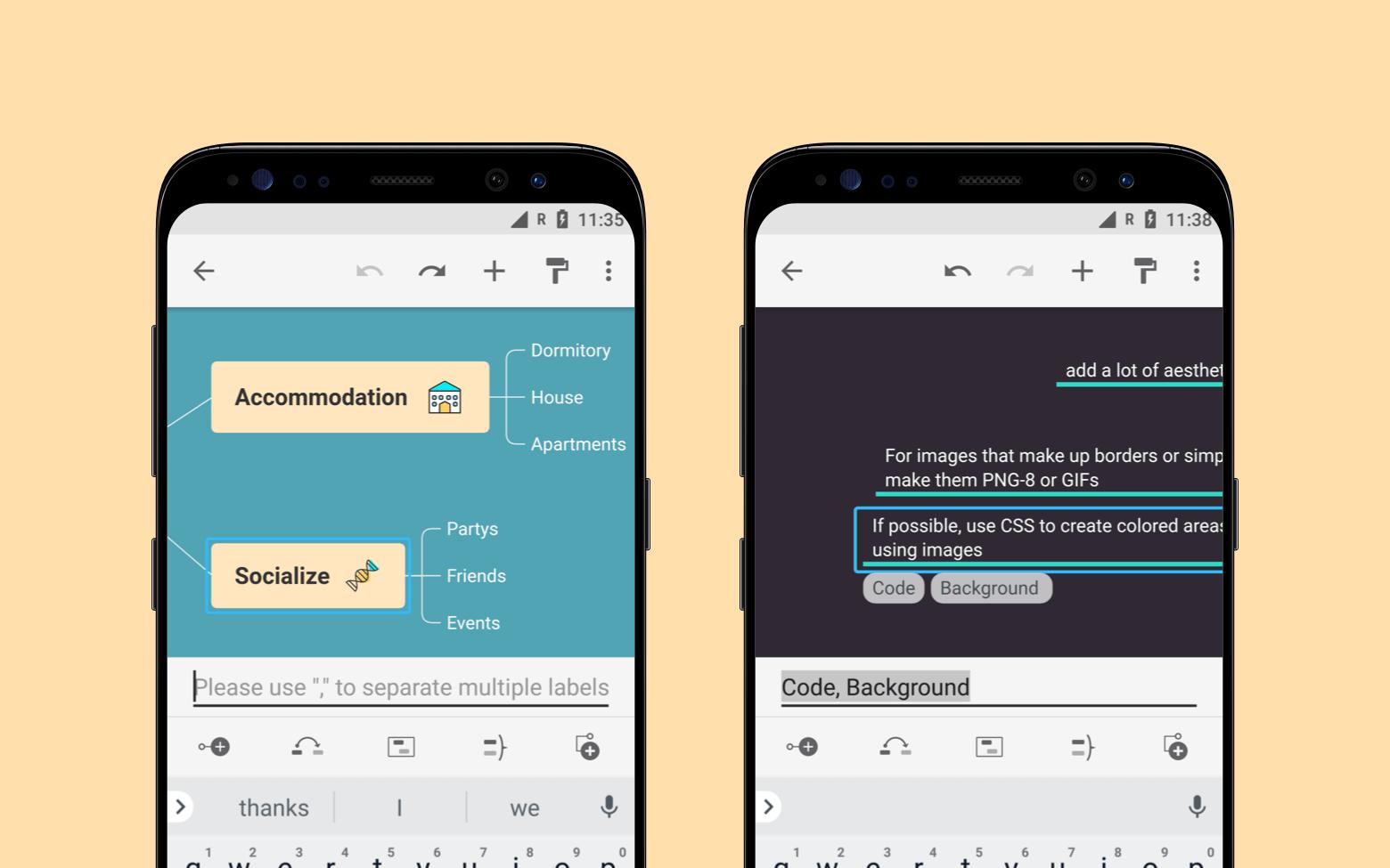 Интеллект карты: Крутое обновление XMind Android (mind maps)